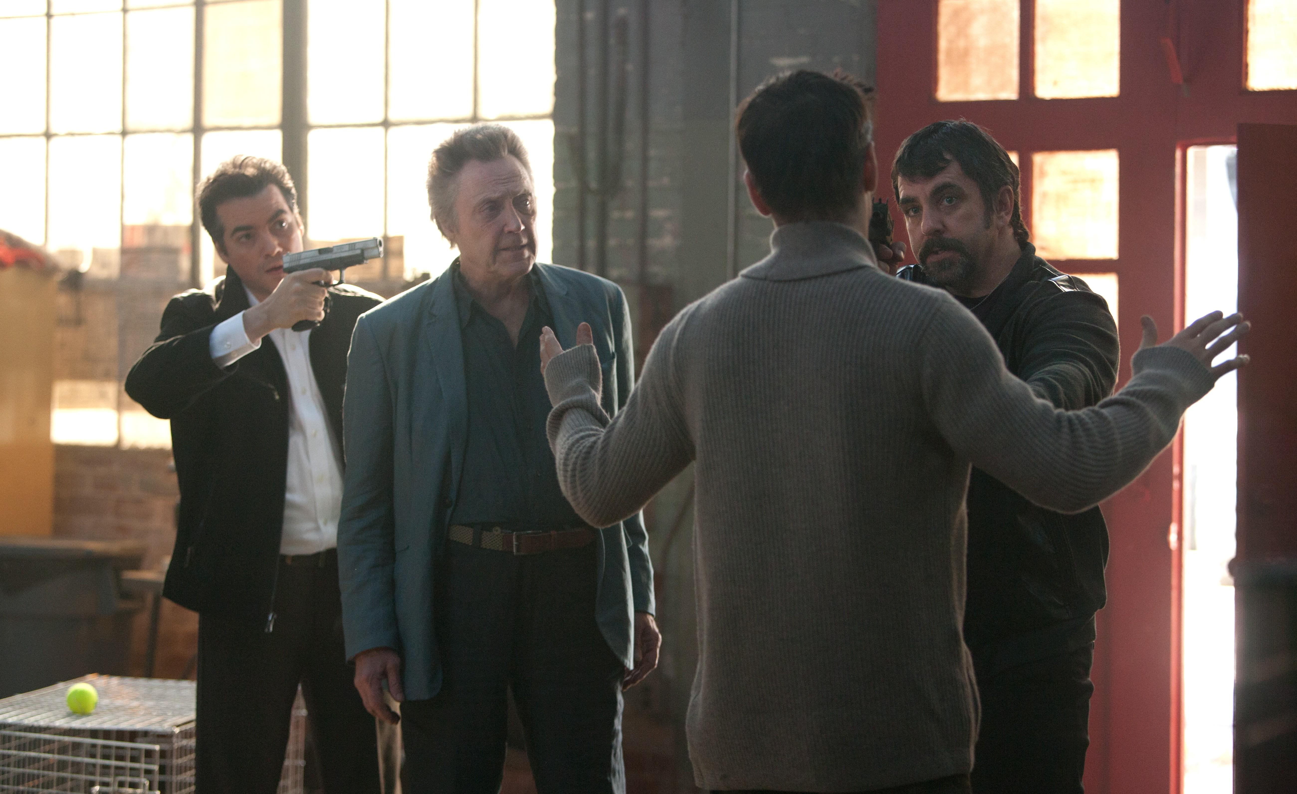 кадры из фильма Семь психопатов Кристофер Уокен, Колин Фаррелл,
