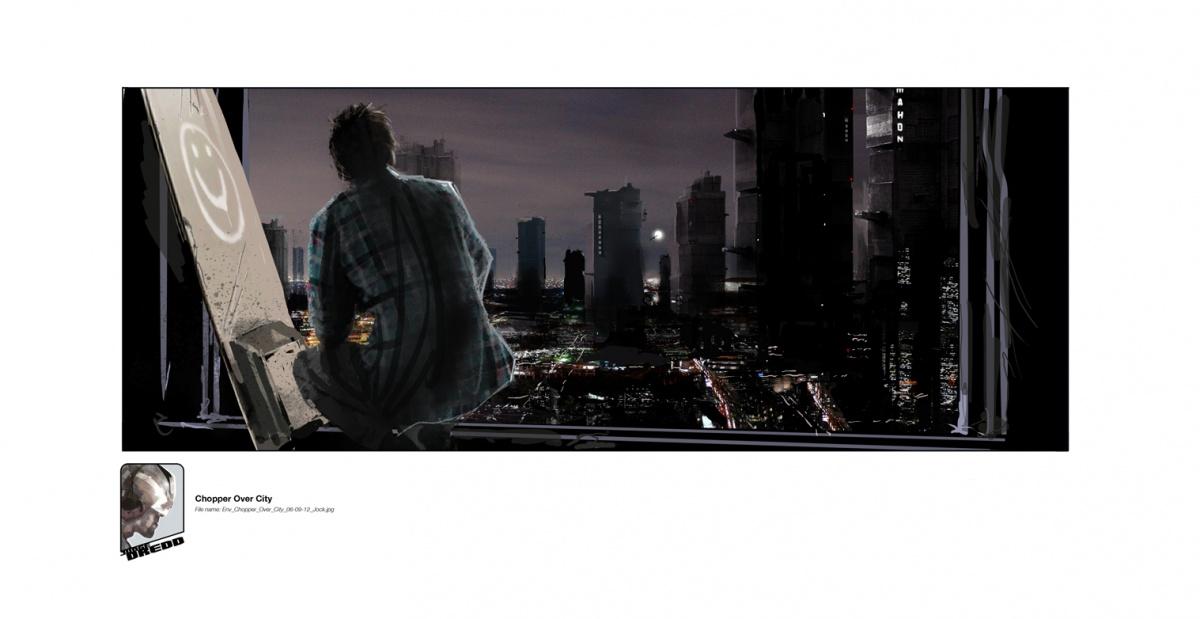 концепт-арты Судья Дредд 3D