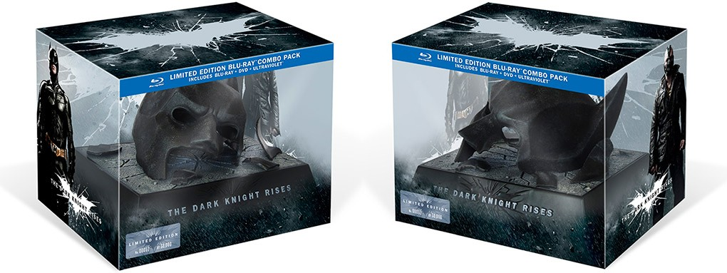 промо-слайды Blu-Ray Темный рыцарь: Возрождение легенды
