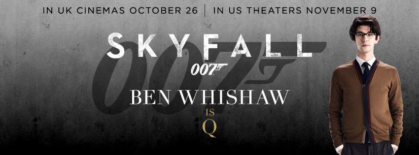 плакат фильма характер-постер баннер 007 Координаты Скайфолл