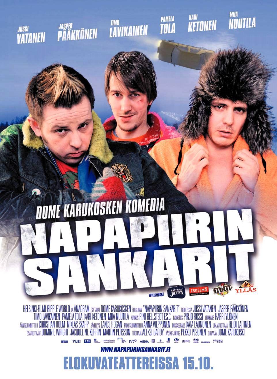плакат фильма постер Лапландская одиссея