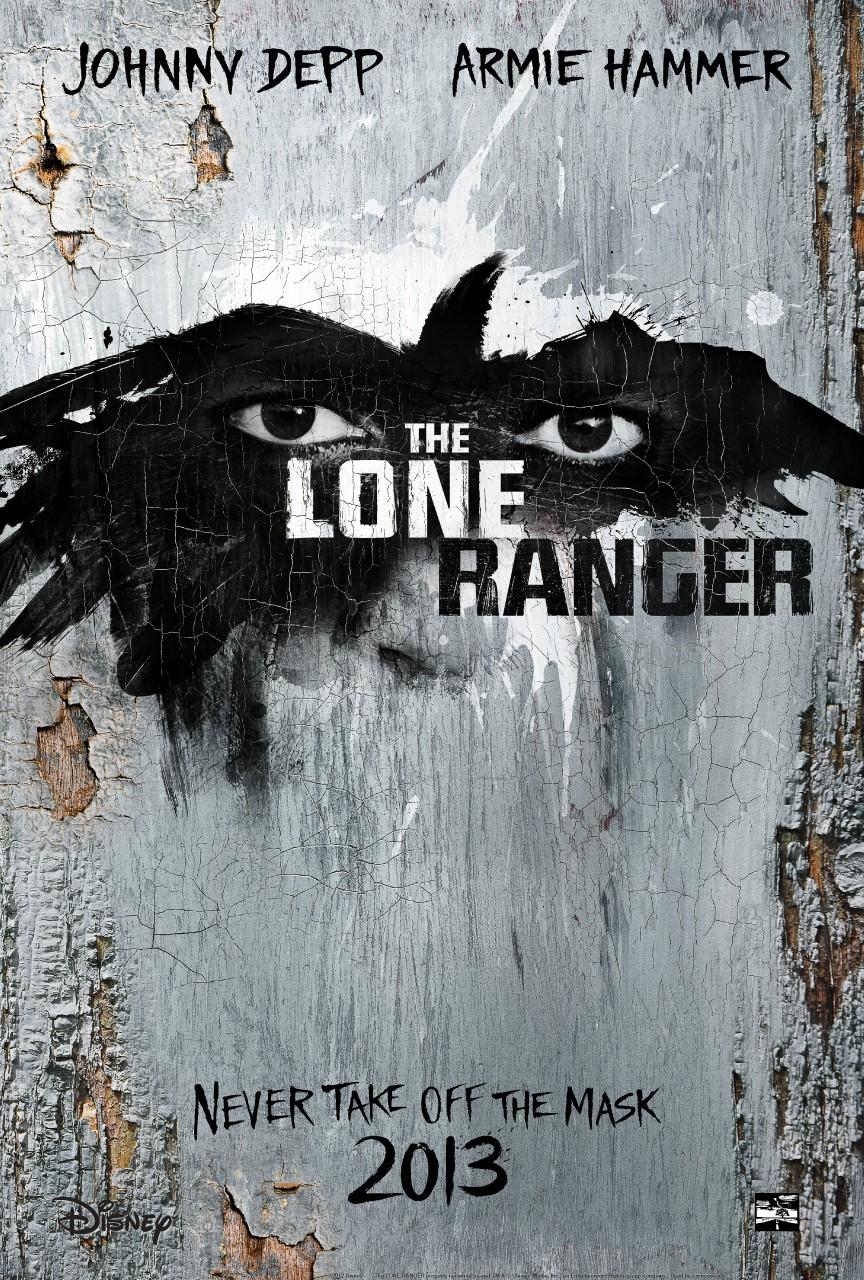 плакат фильма тизер Одинокий рейнджер