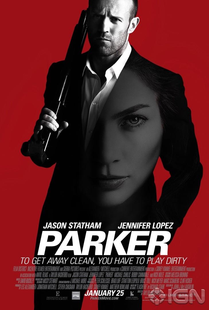 плакат фильма постер Паркер