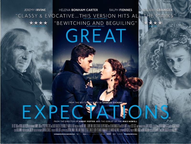 плакат фильма биллборды Большие надежды