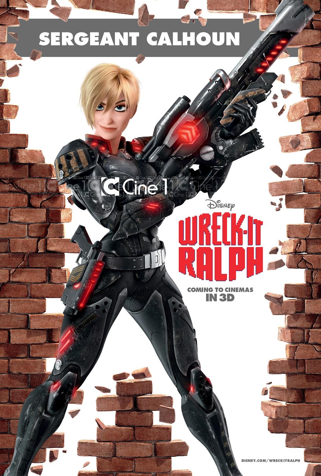 плакат фильма характер-постер Ральф
