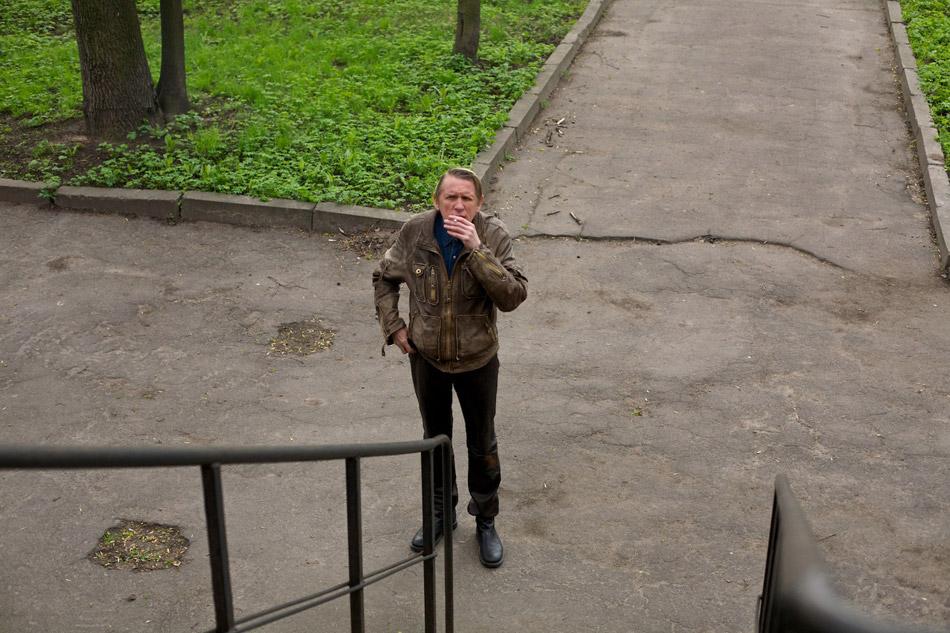 со съемок Я тоже хочу Олег Гаркуша,