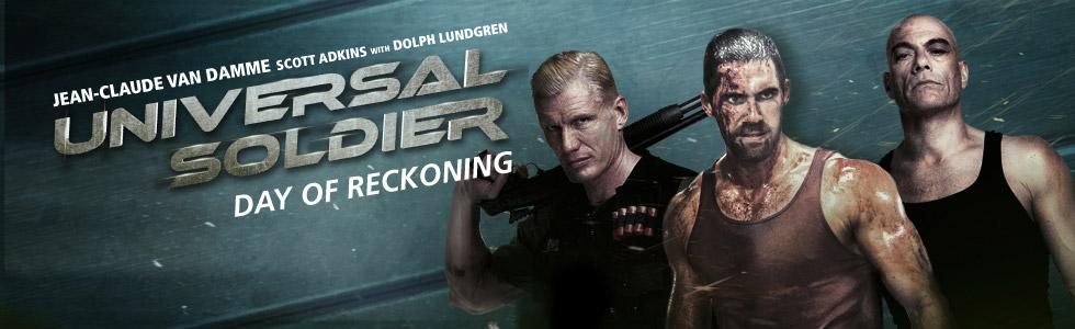 плакат фильма баннер Универсальный солдат 4
