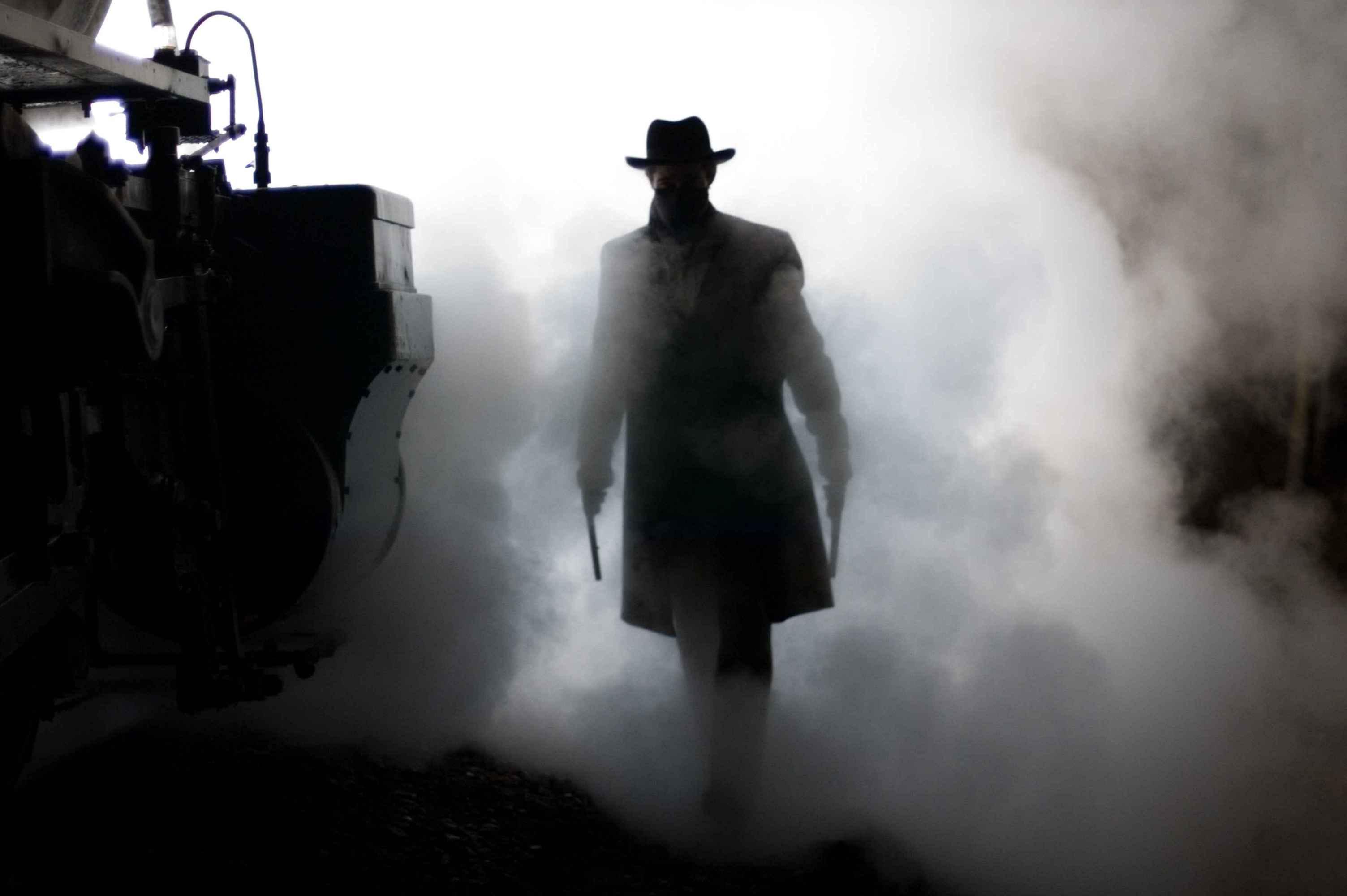 кадры из фильма Как трусливый Роберт Форд убил Джесси Джеймса Брэд Питт,
