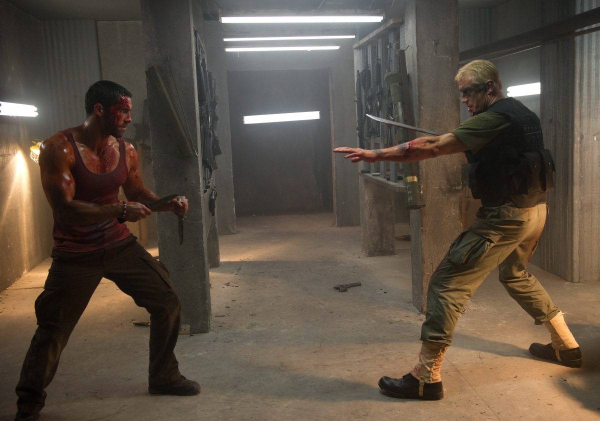 кадры из фильма Универсальный солдат 4 Скотт Эдкинс, Дольф Лундгрен,