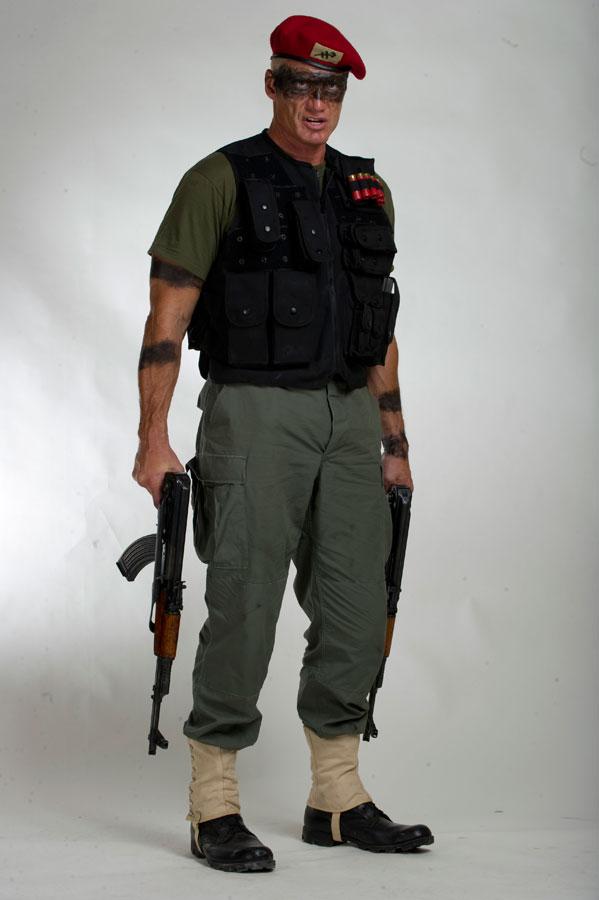 промо-слайды Универсальный солдат 4 Дольф Лундгрен,