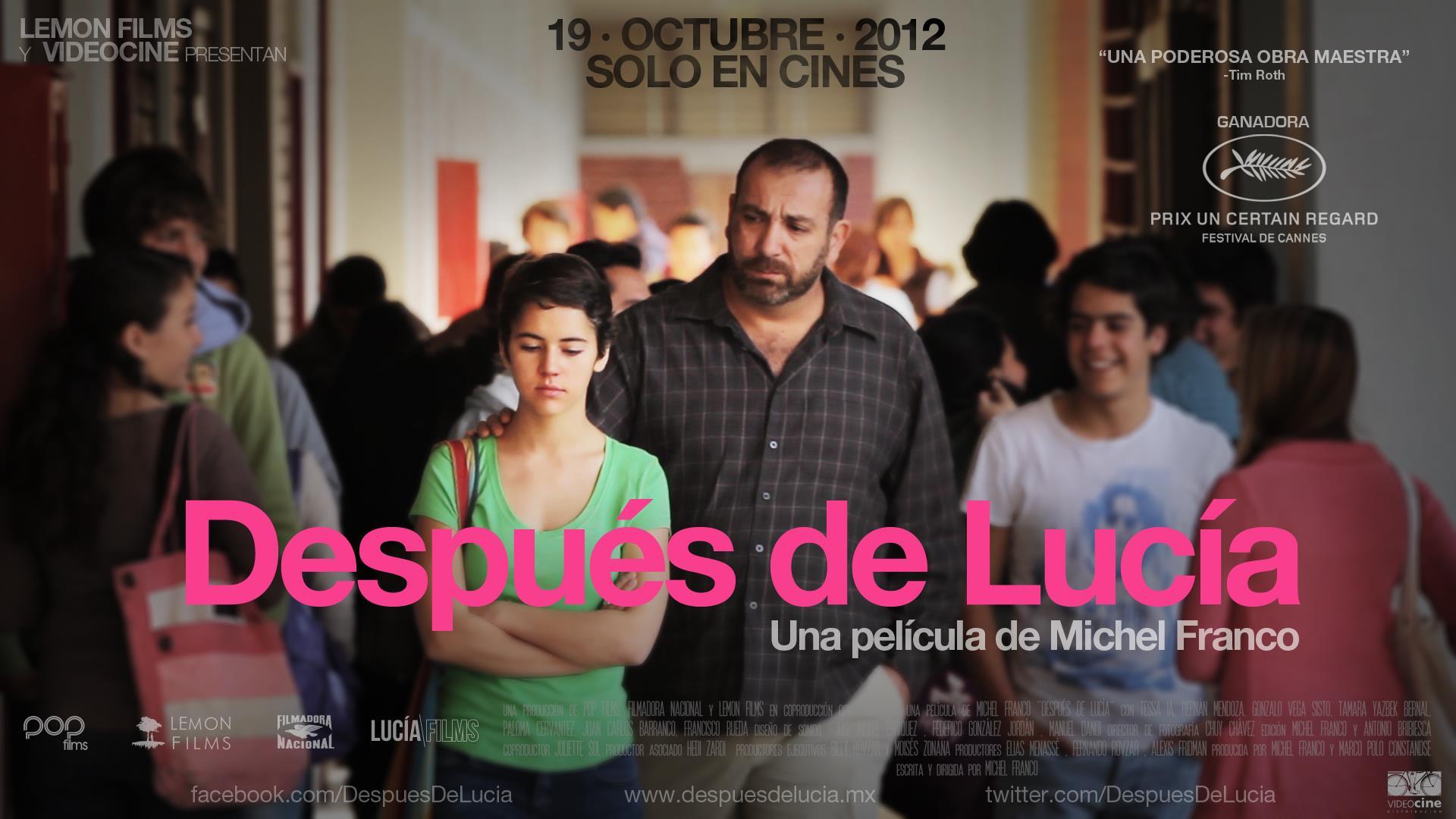 плакат фильма баннер После Люсии