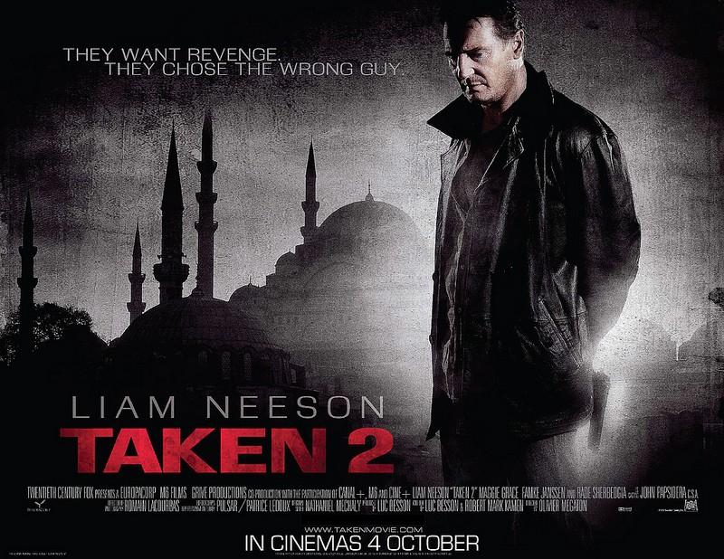 плакат фильма биллборды Заложница 2