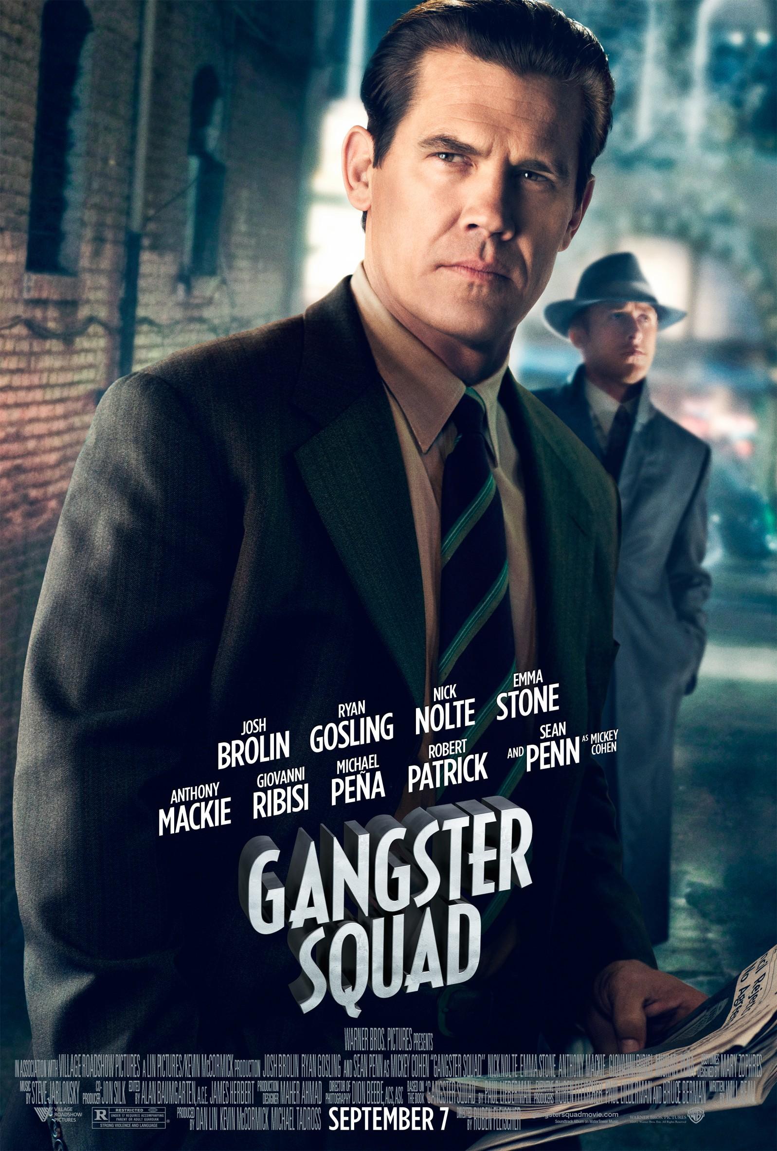 плакат фильма характер-постер Охотники на гангстеров