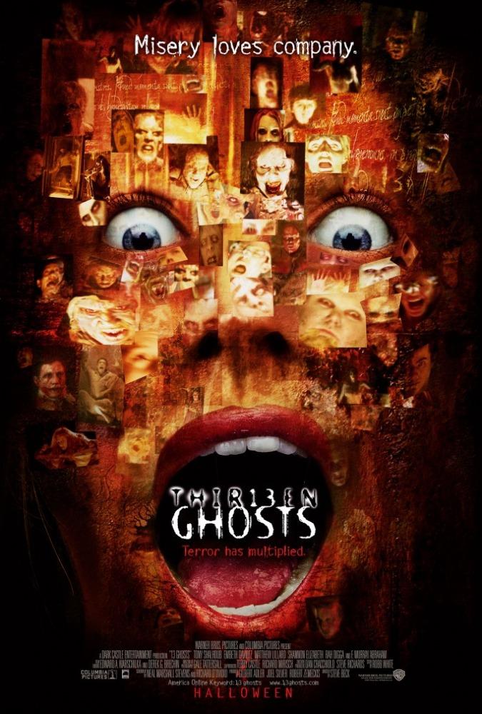 плакат фильма постер Тринадцать привидений