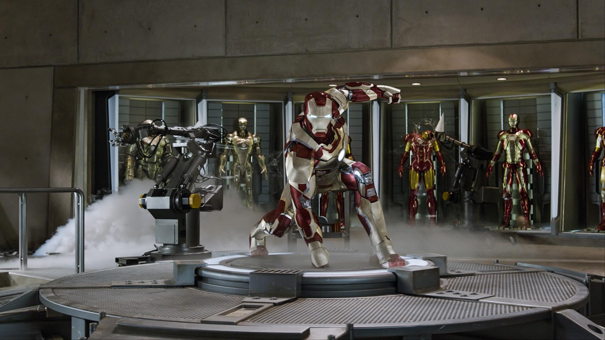 кадры из фильма Железный человек 3 Роберт Дауни-мл.,