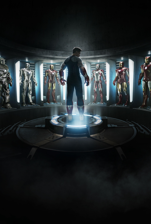 плакат фильма тизер textless Железный человек 3