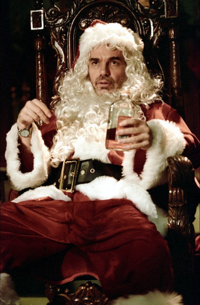кадры из фильма Плохой Санта Билли Боб Торнтон,