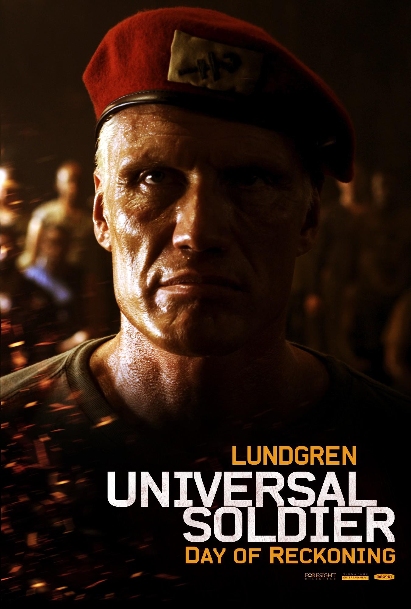 плакат фильма характер-постер Универсальный солдат 4