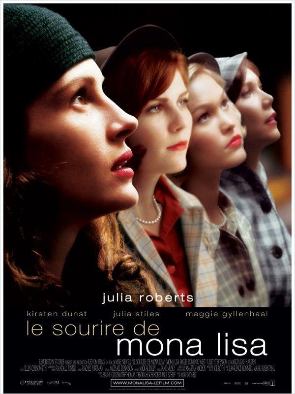 плакат фильма постер Улыбка Моны Лизы