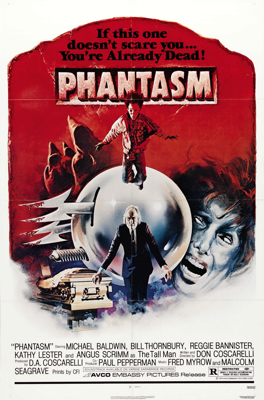 плакат фильма постер Фантазм