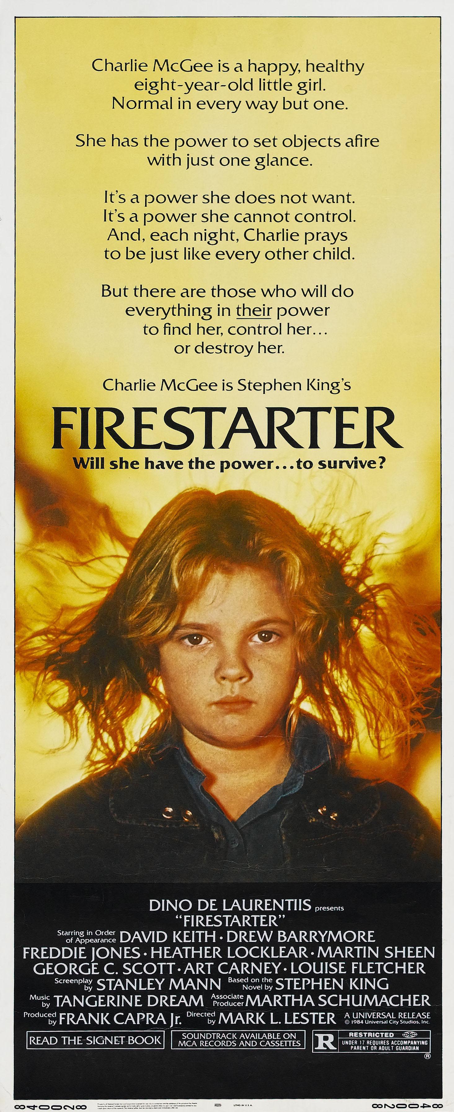 плакат фильма баннер Воспламеняющая взглядом