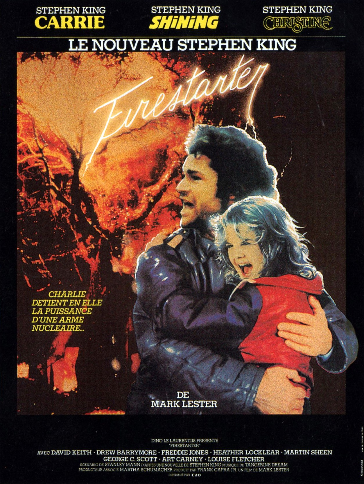 плакат фильма Воспламеняющая взглядом