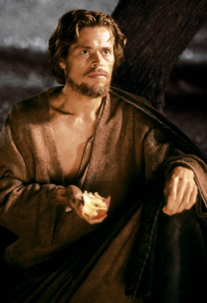 кадры из фильма Последнее искушение Христа Уиллем Дэфо,