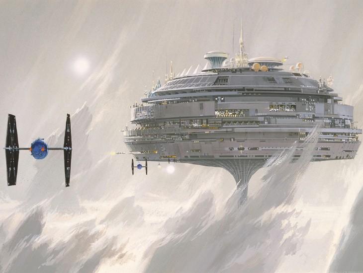 концепт-арты Звездные войны: Эпизод V — Империя наносит ответный удар