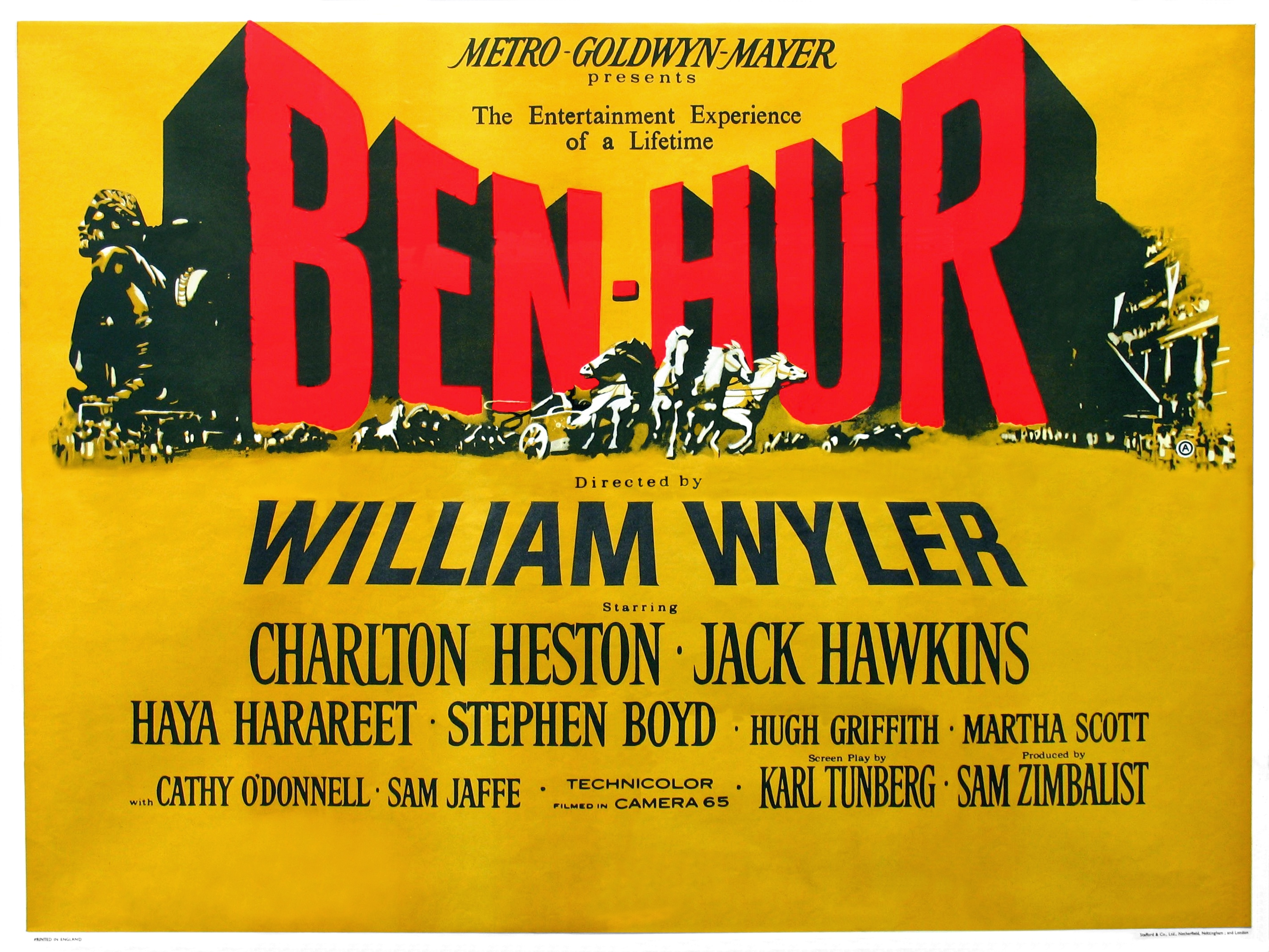 an examination of the movie ben hur