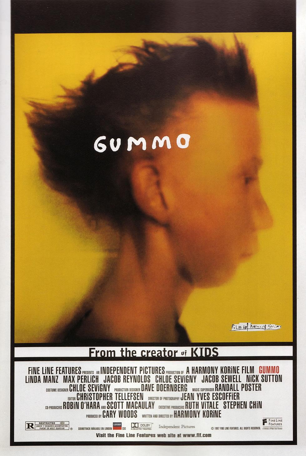 плакат фильма Гуммо