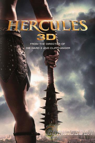 плакат фильма сейлс-арт Геракл: Начало легенды 3D