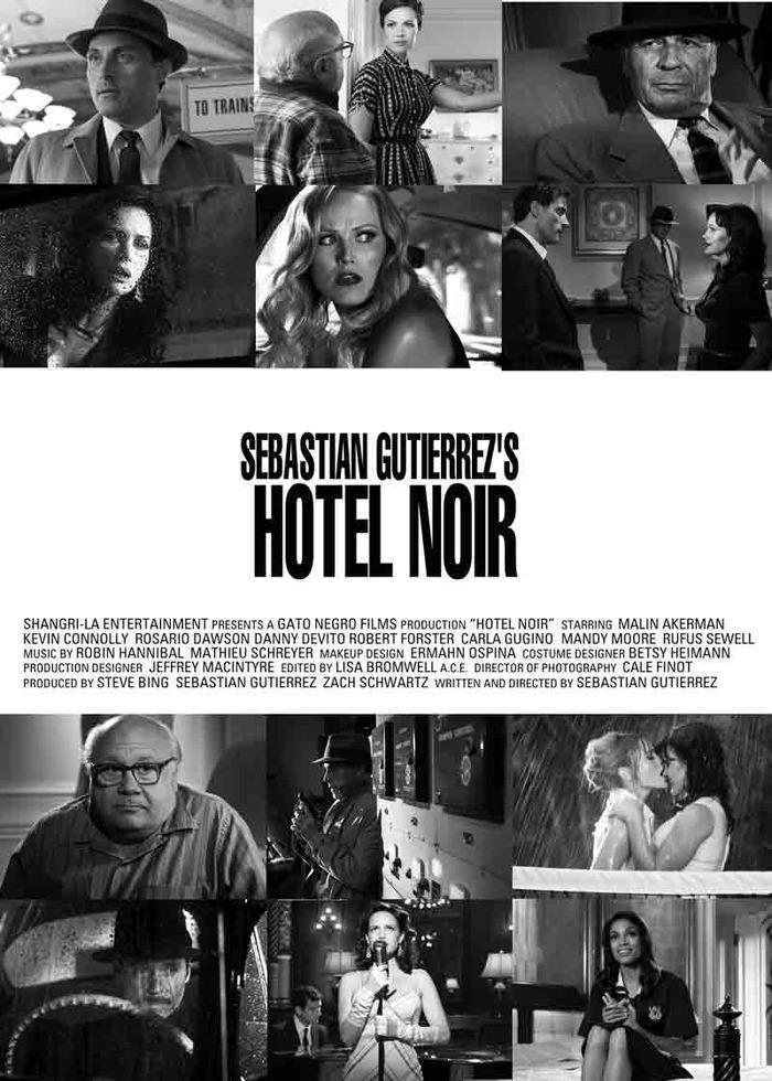 плакат фильма постер Отель «Нуар»*