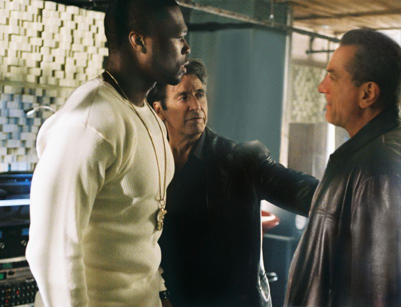кадры из фильма Право на убийство  50 Cent, Роберт Де Ниро, Аль Пачино,
