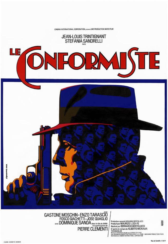 плакат фильма постер Конформист