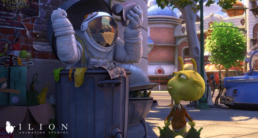 кадры из фильма Планета 51