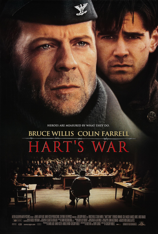 плакат фильма Война Харта