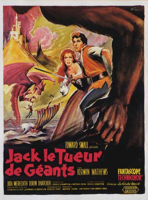 плакат фильма постер Джек — убийца великанов