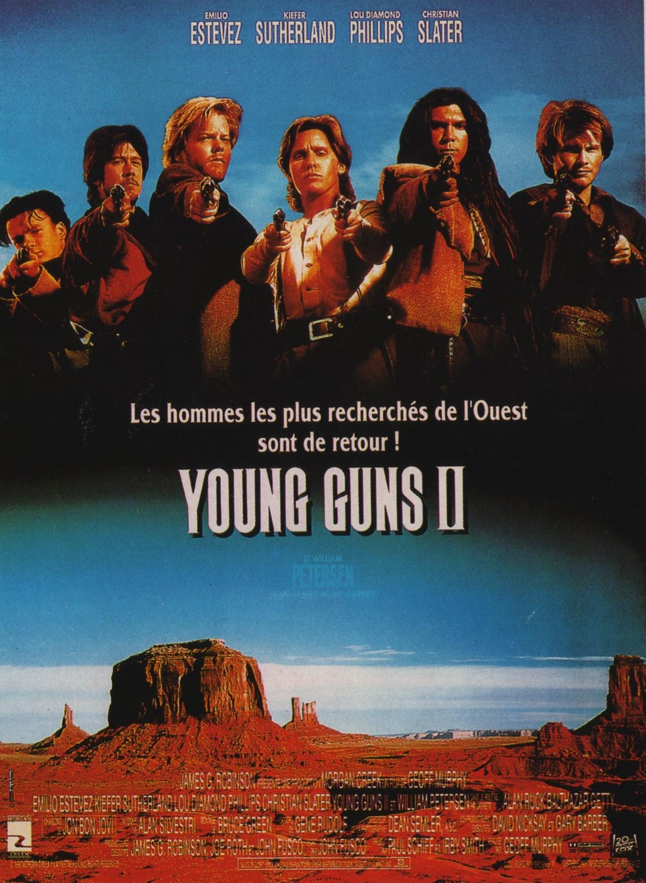 плакат фильма постер Молодые стрелки 2