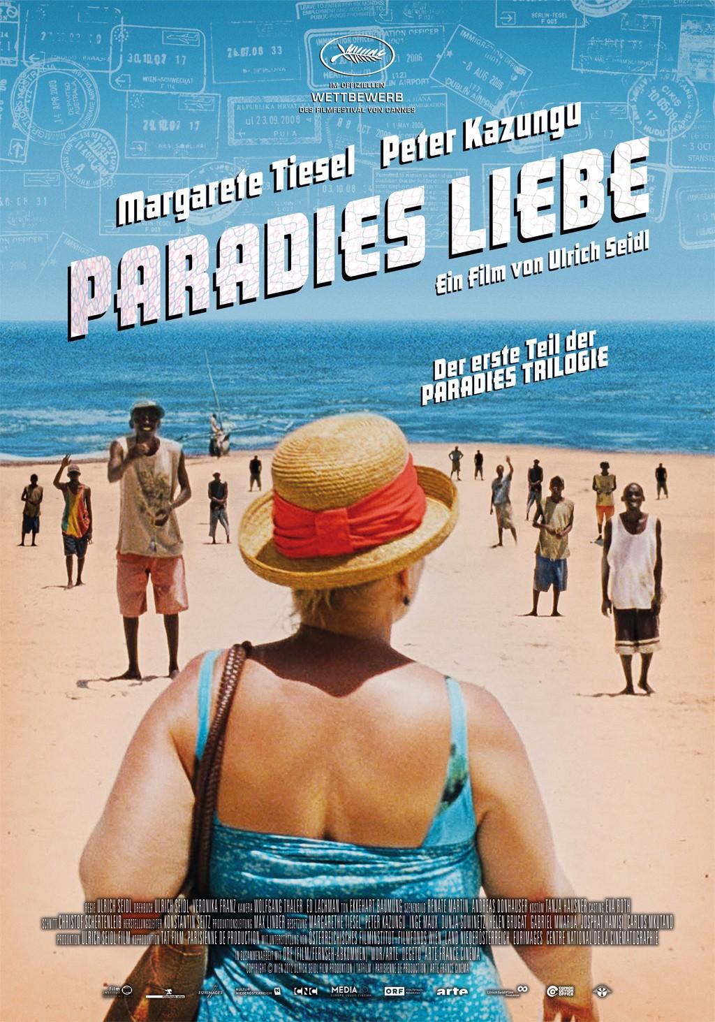 плакат фильма постер Рай. Любовь