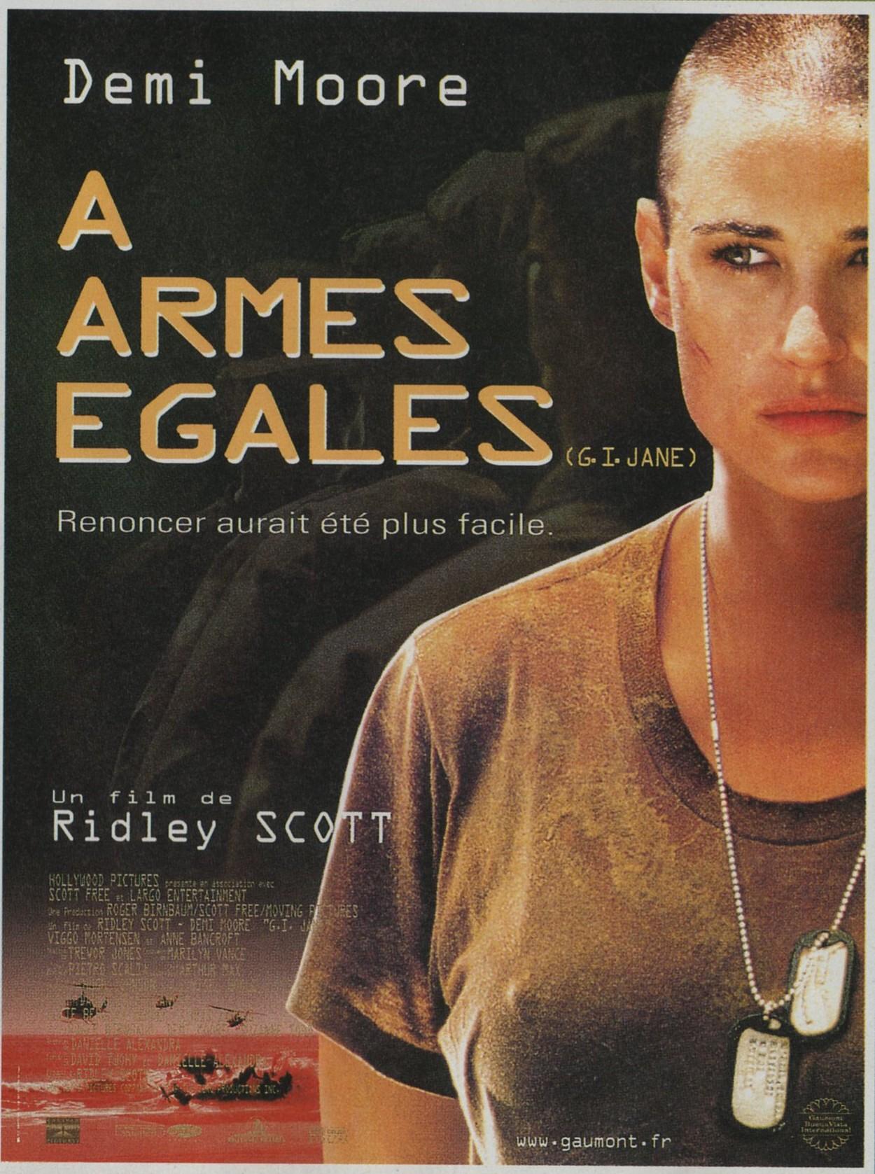 плакат фильма Солдат Джейн