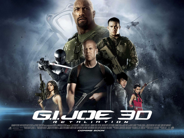 плакат фильма биллборды G.I. Joe: Бросок кобры 2