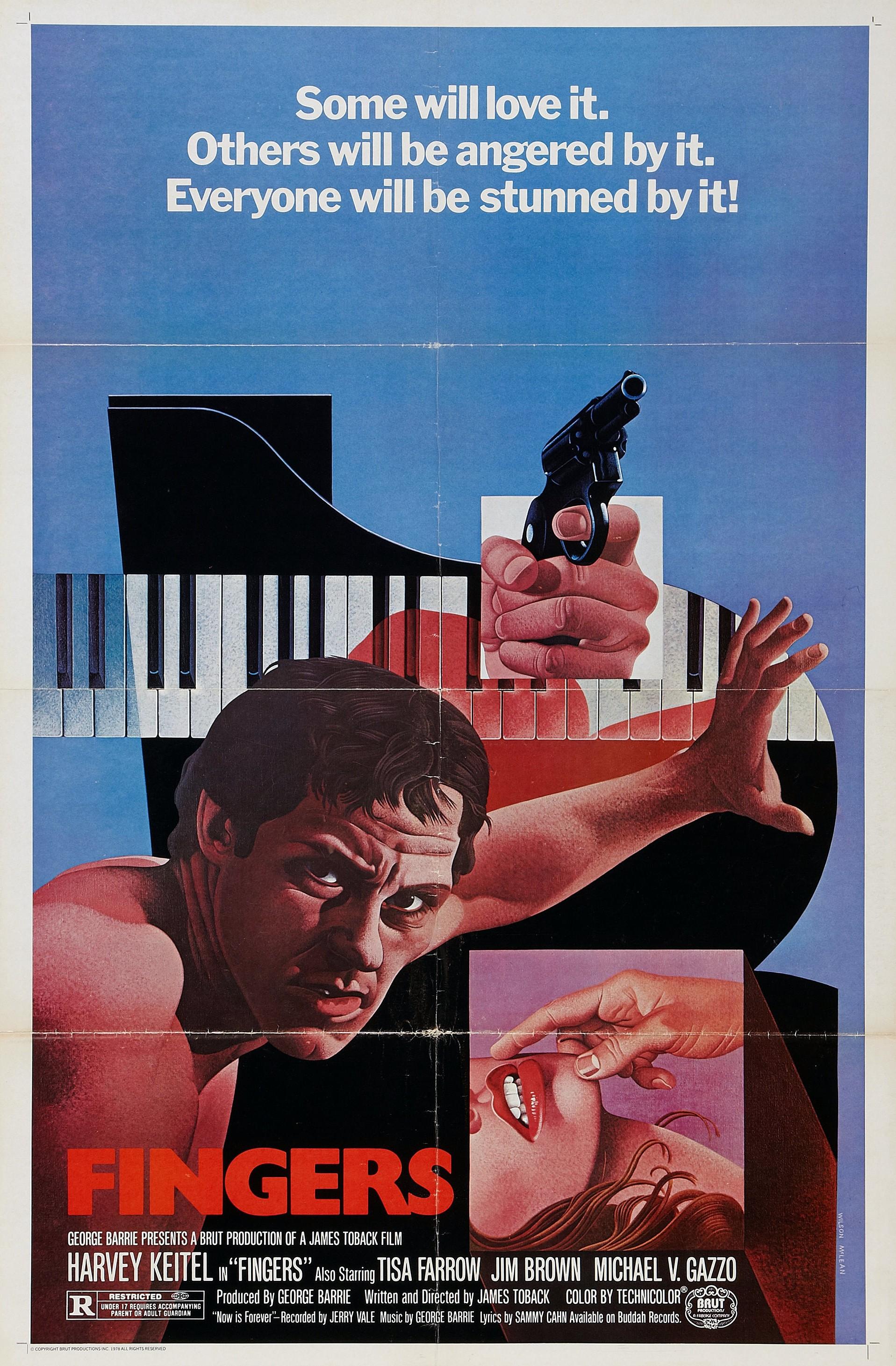 плакат фильма Пальцы