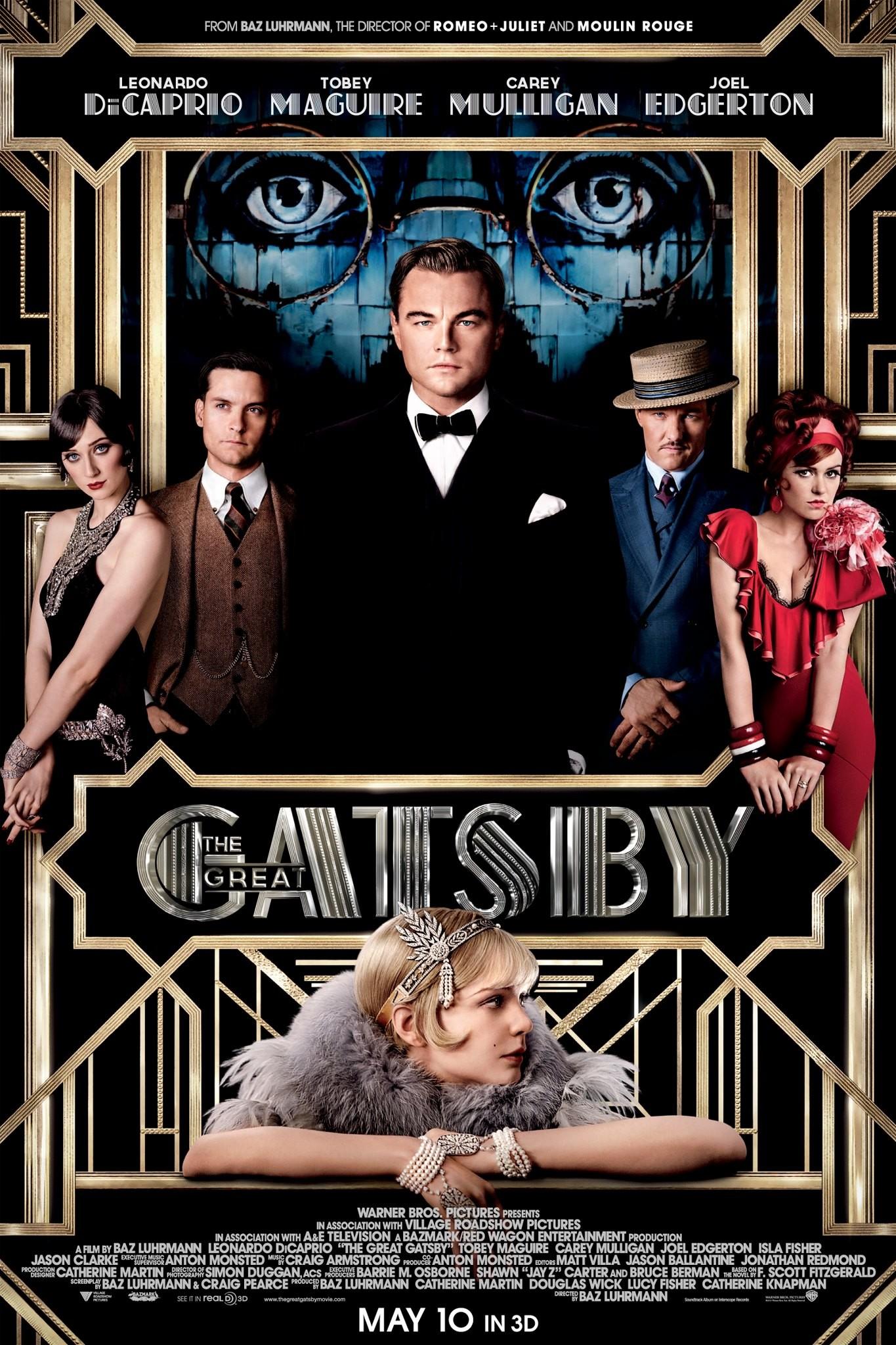 плакат фильма постер Великий Гэтсби
