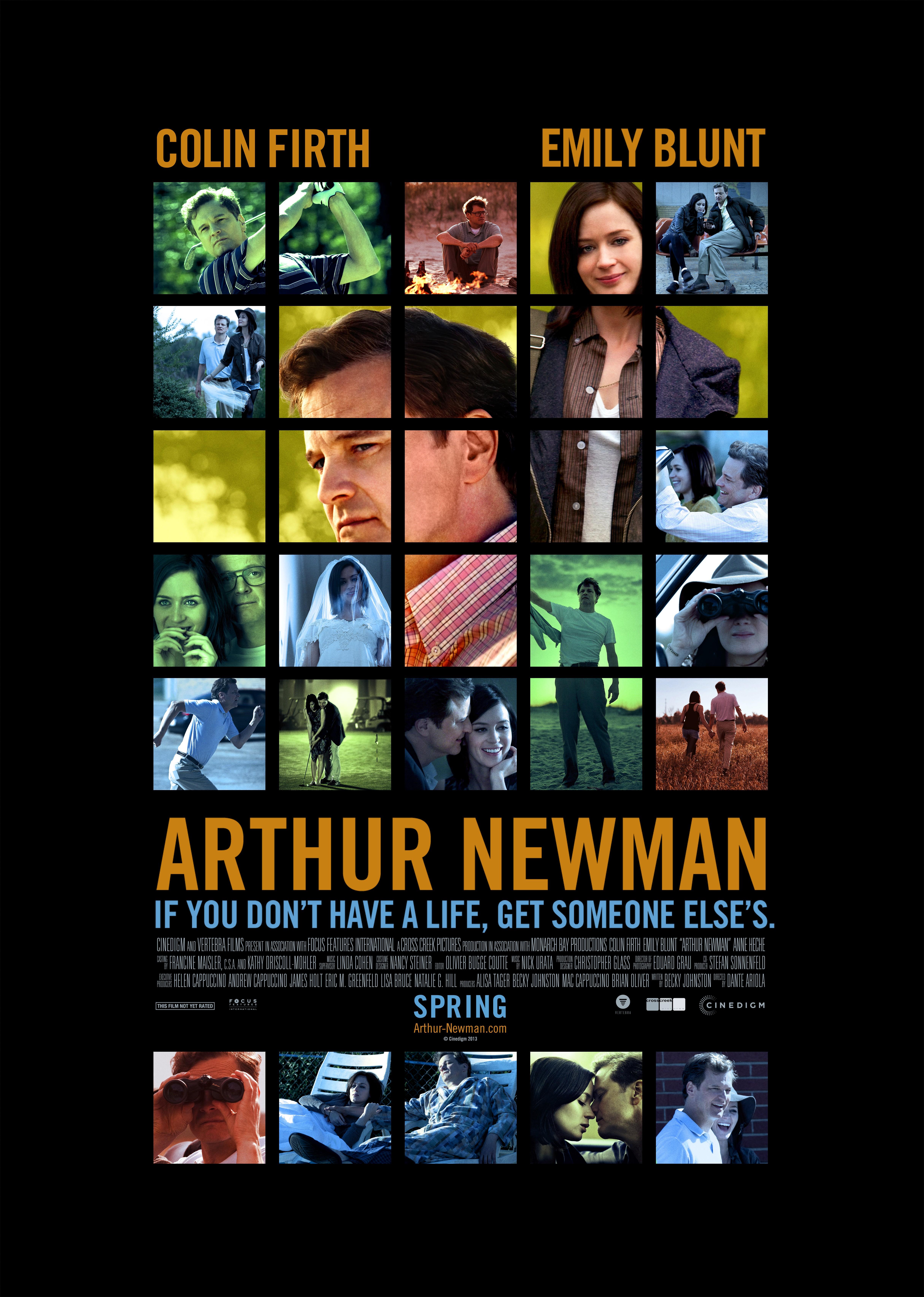 плакат фильма постер Артур Ньюман*