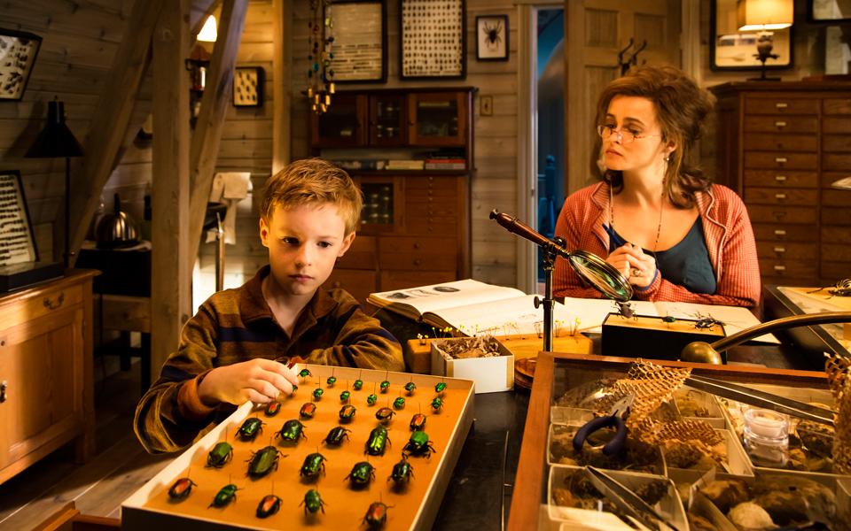 кадры из фильма Невероятное путешествие мистера Спивета Кайл Кэтлетт, Хелена Бонэм Картер,