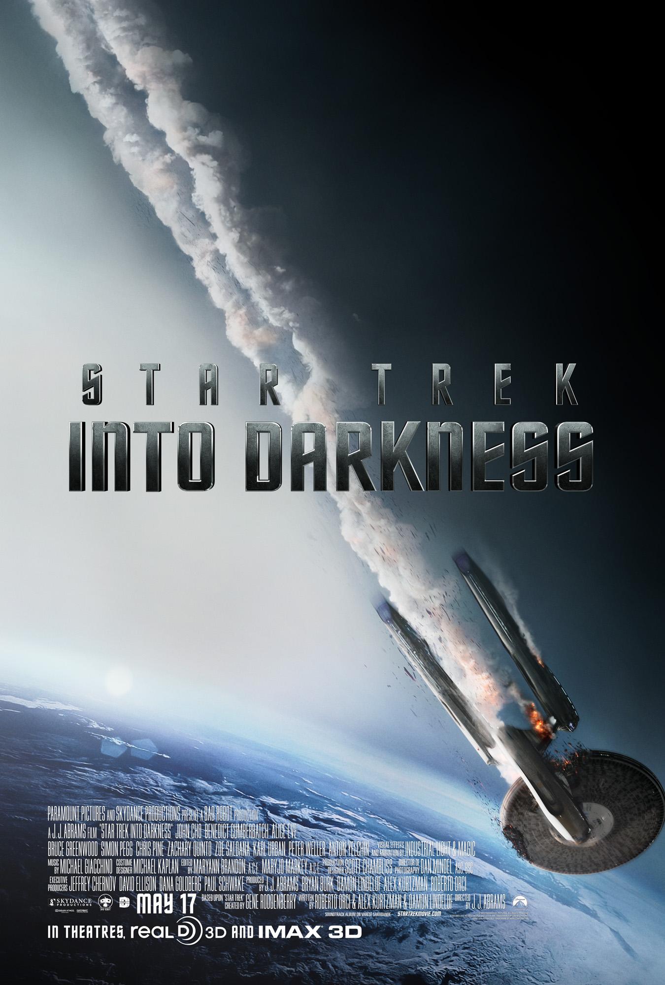 плакат фильма постер Стартрек: Возмездие