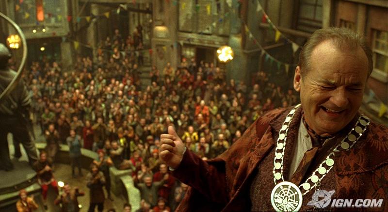 кадры из фильма Город Эмбер: Побег Билл Мюррей,