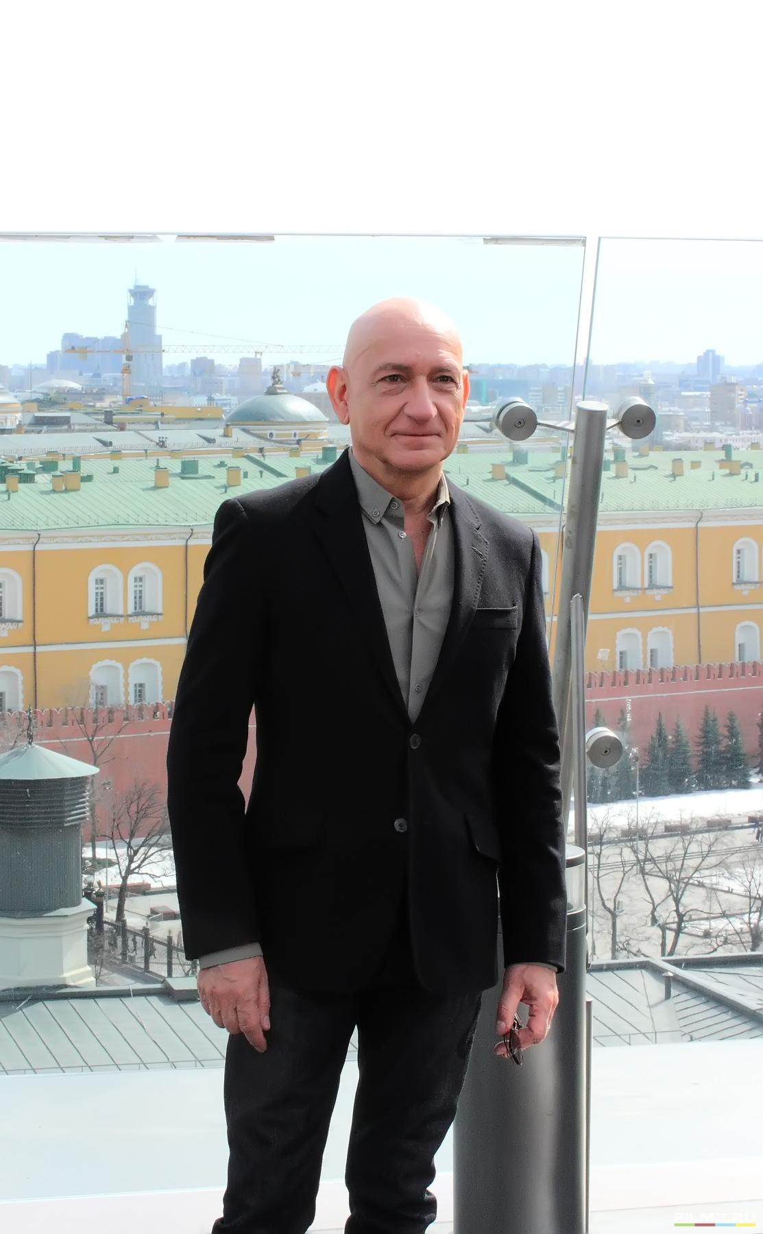 фотосессия Роберт Дауни-мл. и Бен Кингсли в Москве Бен Кингсли,