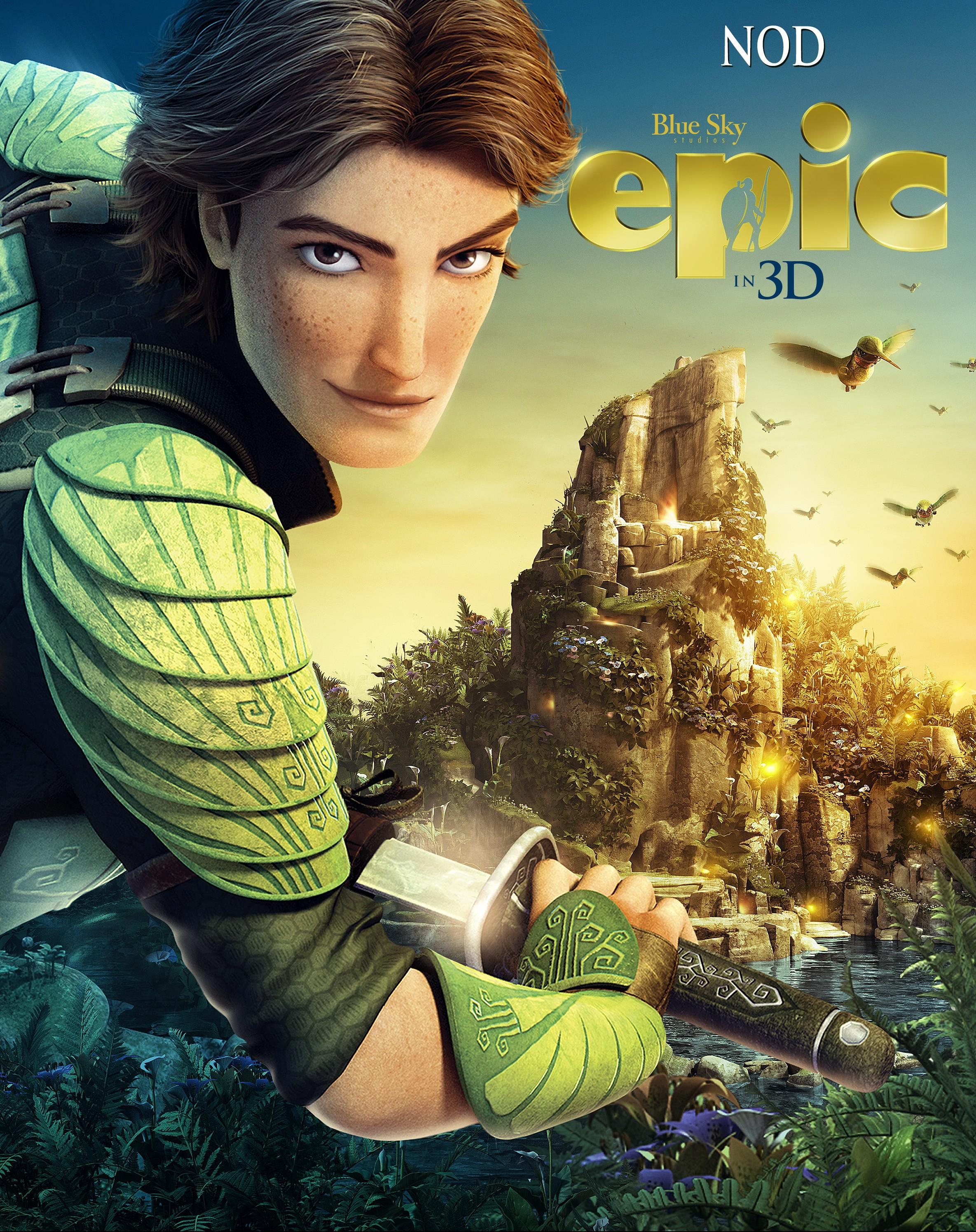 плакат фильма характер-постер Эпик