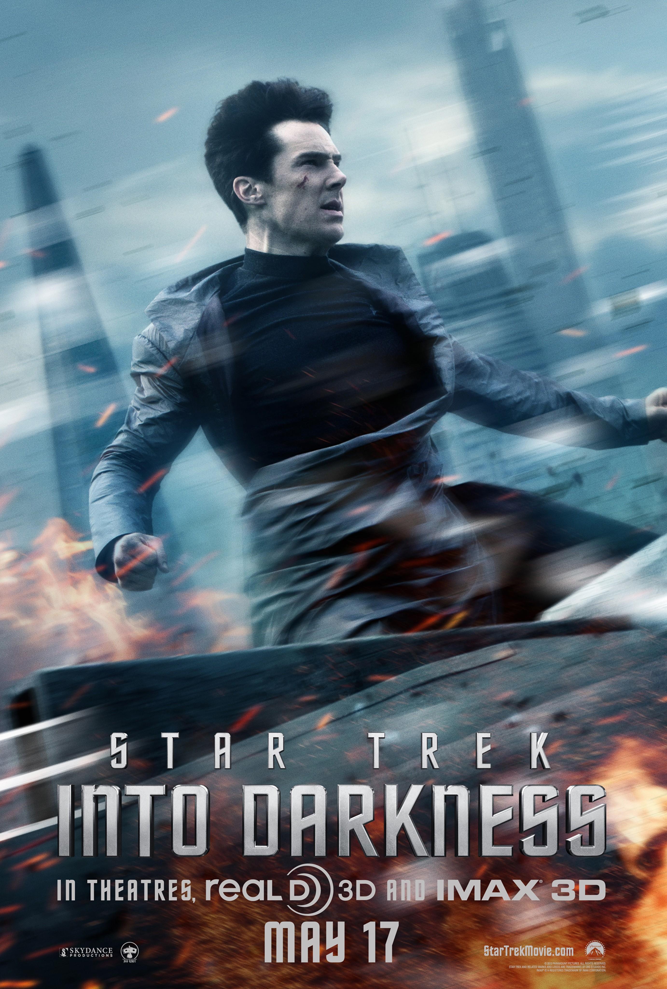 плакат фильма характер-постер Стартрек: Возмездие